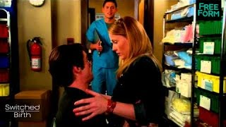 Switched at Birth - Spring Finale | Clip: Kissing Campbell