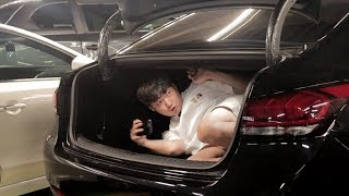 차 트렁크,냉장고에 갇히면 혼자서는 못 나올까??