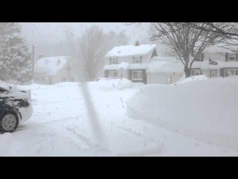 Life in Ironwood, Michigan in November!