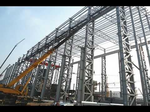 China Steel Structure Plant for Qingdao Beer Co , Ltd