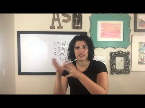 ASL Grammar Without The Frustration Part 1