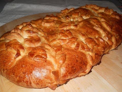 слоеный капустный пирог рецепт