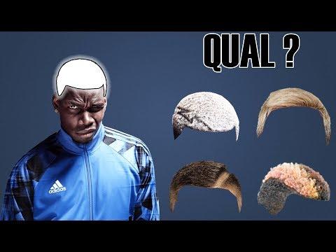 Quiz de Futebol - Consegue adivinhar o jogador pelo seu corte de cabelo ?