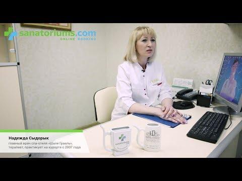 Интервью с доктором Надеждой Сыдорык о лечении в спа-отеле Шале Грааль - sanatoriums.com
