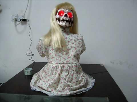 HalloweenAsylum.com - Animated Kneeling Geist Girl Halloween Prop