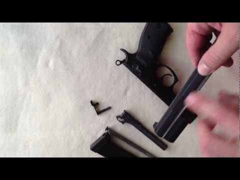 CZ 75 SP 01 Review & Disassembly & Reassembly