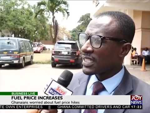 Fuel Price Increases - Business Live on JoyNews (20-9-17)