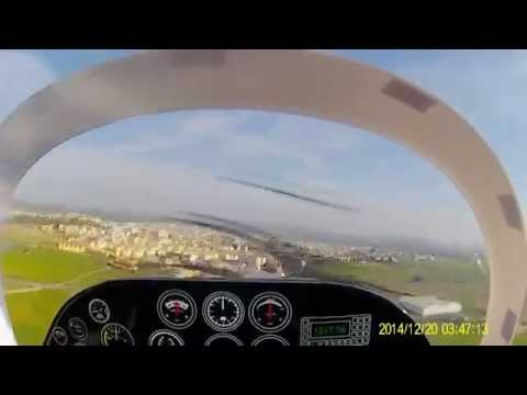 Scottish Aviation Bulldog rc onboard video