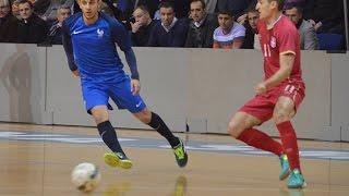 Futsal : Serbie-France (4-1 et 3-3), le résumé