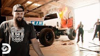 ¡Camioneta con motor Duramax está que arde! | Diesel Dave | Discovery Latinoamérica
