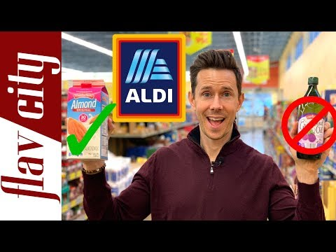 10 Healthy Grocery Items To Buy At Aldi in 2019…And What To Avoid!