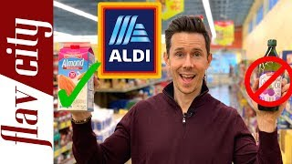 10 Healthy Grocery Items To Buy At Aldi In 2019 And What To Avoid!