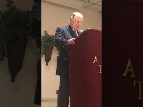 Dr. Joe Hollowell retirement speech
