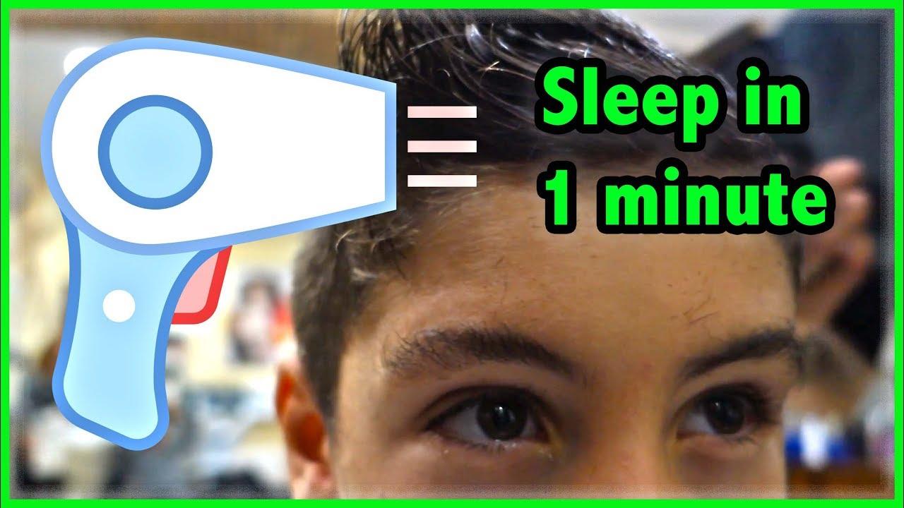 Hair Dryer White Noise Sleep Trick