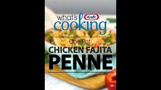 One-Pot Chicken Fajita Penne recipe