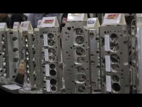PRI2013 - Edelbrock E-CNC Heads Review - YouTube