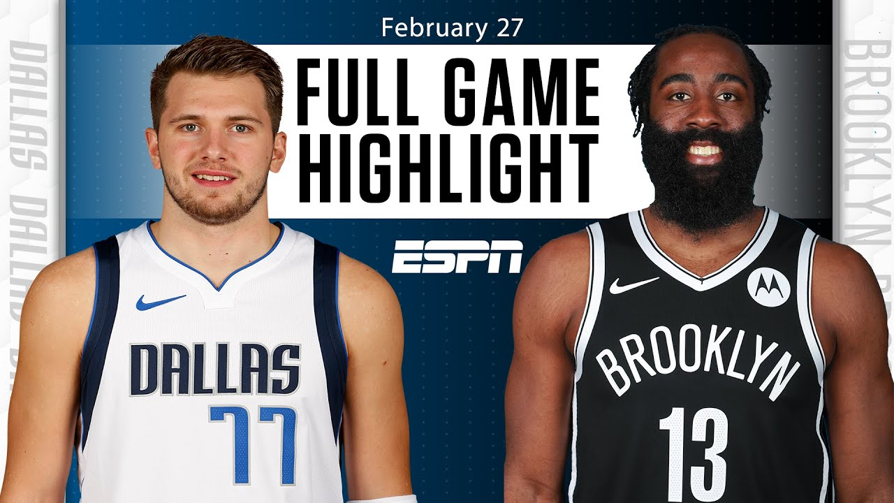 Dallas Mavericks vs. Brooklyn Nets [FULL GAME HIGHLIGHTS] | NBA on ESPN