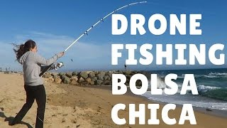Repeat youtube video DRONE FISHING Bolsa Chica Beach - Episode 006