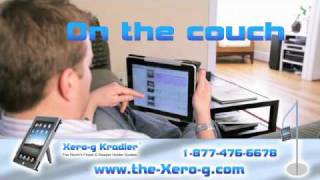 "Xero-g, Ipad & Ereader Holder & ""hands-free"" Stand"