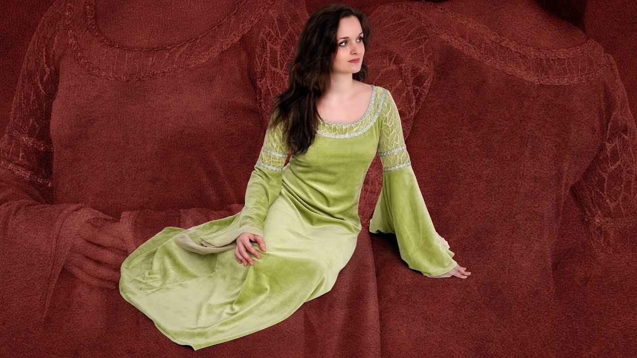 Kostümvorstellung: Elben-Hochzeitskleid