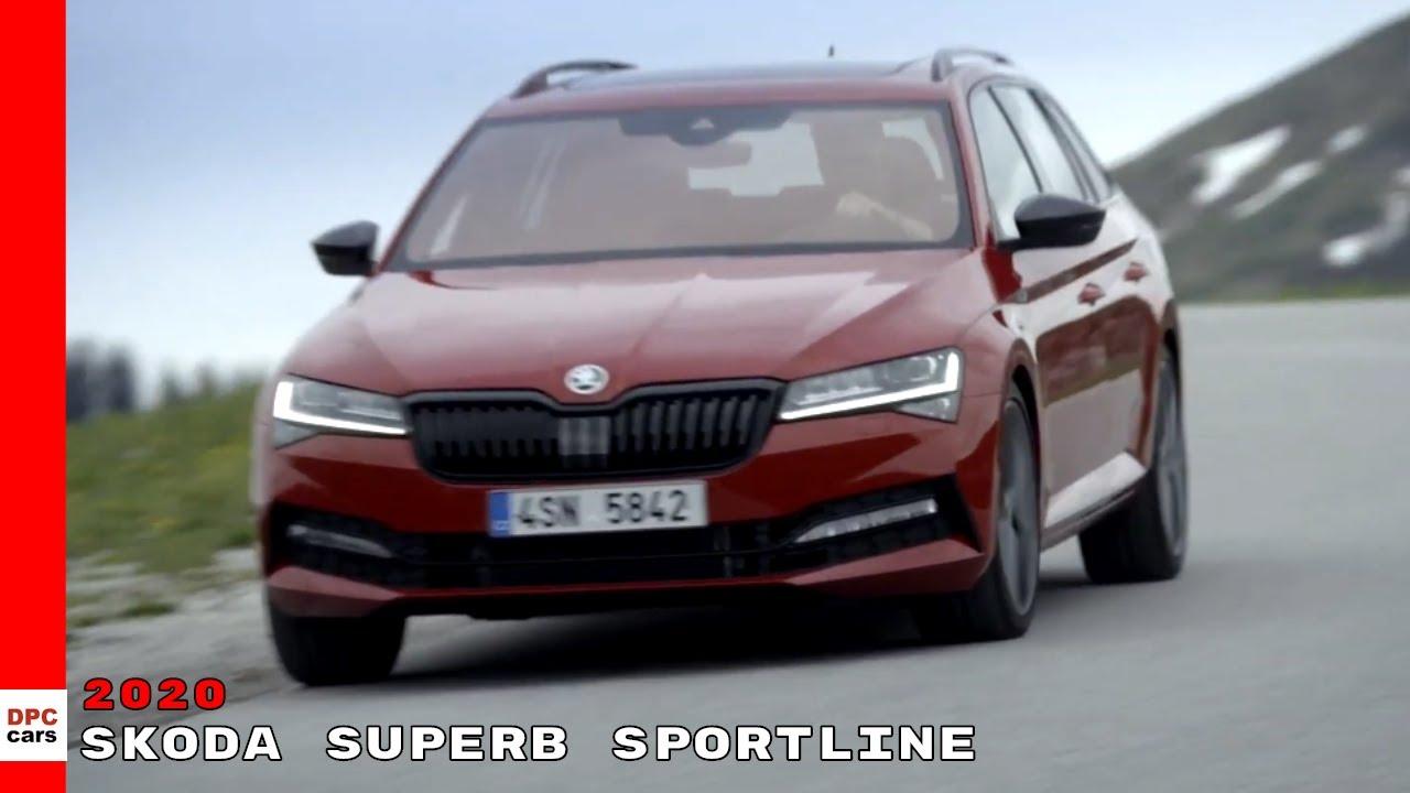 Skoda Superb Sportline 2020 Youtube