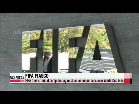FIFA files criminal complaint against unnamed persons over World Cup bids   FIFA