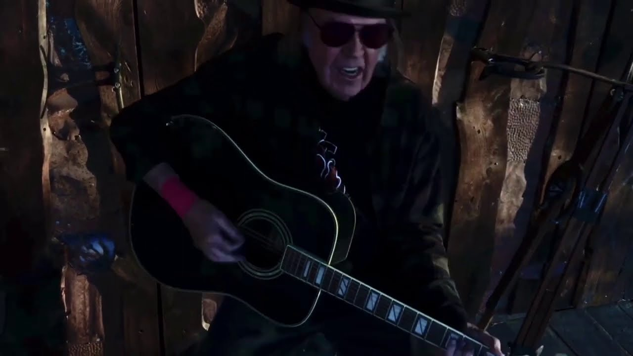 Download Neil Young - Lookin' For A Leader 2020 (Official Music Video)
