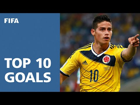 TOP 10 GOALS: 2014 FIFA World Cup Brazil鈩� [OFFICIAL]