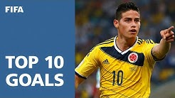 TOP 10 GOALS | 2014 FIFA World Cup Brazil