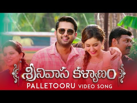 Srinivasa Kalyanam Palletooru Video Song | Bonus Track - Nithiin, Raashi Khanna