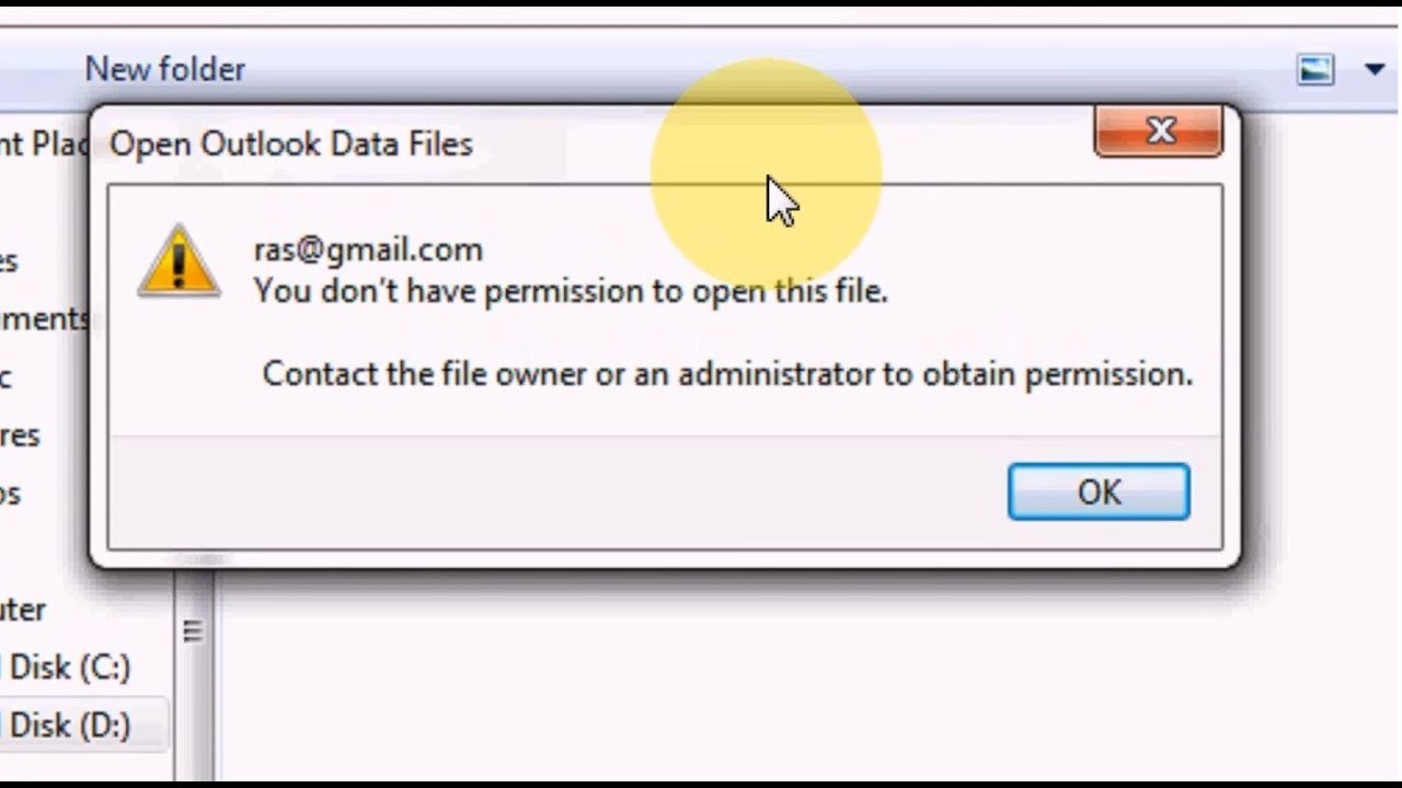 How to Fix Outlook error During Import PST File