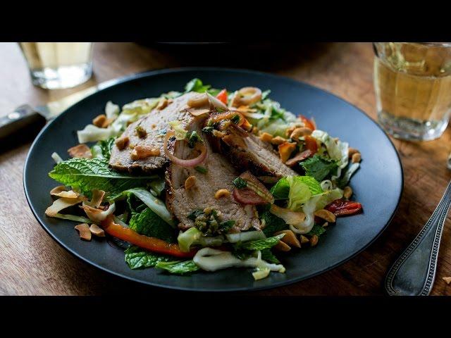 泰式豬肉沙拉
