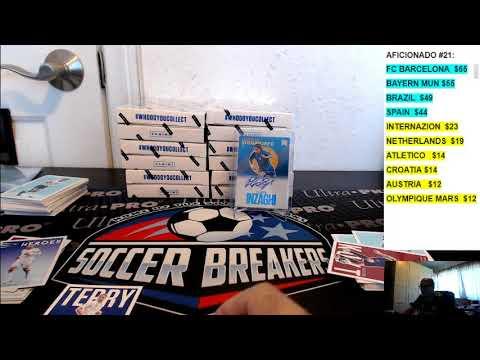 2017 PANINI NOBILITY SOCCER 8 BOX PICK YOUR TEAM PYT CASE BREAK #9, OCT 7, 2017