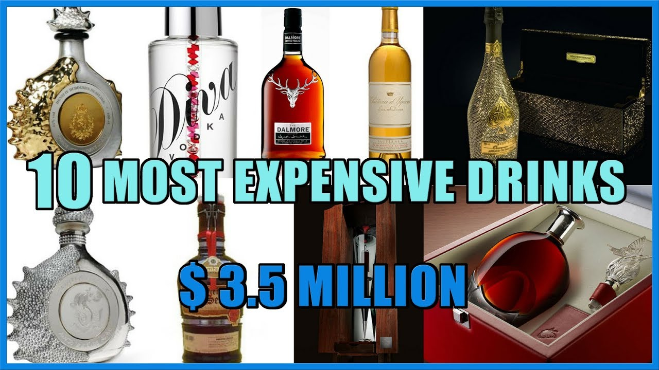 top 10 most expensive alcoholic drinks in the world youtube. Black Bedroom Furniture Sets. Home Design Ideas
