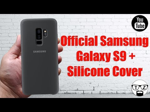 Official Samsung Galaxy S9 Plus Silicone Cover