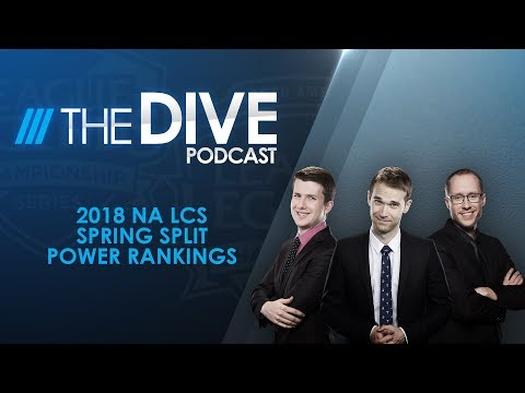 The Dive: 2018 NA LCS Spring Split Power Rankings (Season 2, Episode 2)