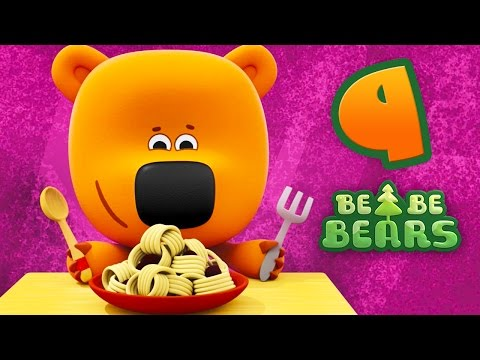 Bjorn and Bucky - Be Be Bears - Episode 9 - Cartoons for kids - Moolt Kids Toons Happy Bear