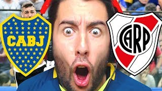 REACCION BOCA VS RIVER [FINAL LIBERTADORES 2-2] | ElShowDeJota