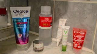 Morning skin care routine for acne / oily skin