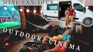 Mini VAN TOUR and the coolest vanlife nights we've had so far!