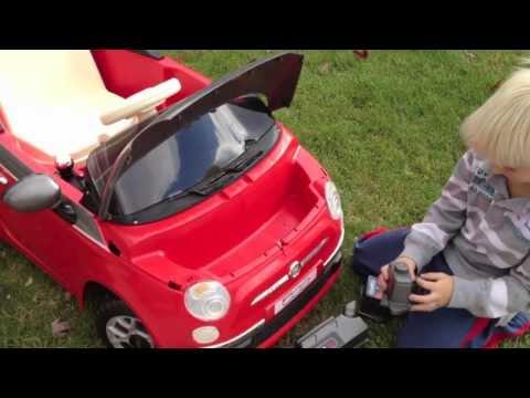 Peg Perego -- FIAT 500 Children's Riding Vehicle