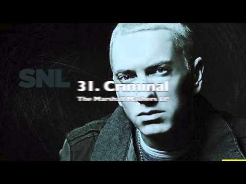 My Top 50 Eminem Songs