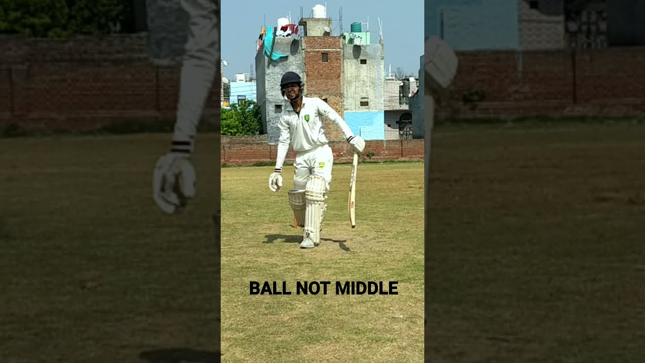 How To Middle A Ball In Cricket     Try These Drills #shorts #shortsvideo
