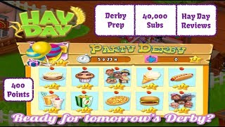 Hay Day Live Stream - Hay Day Party Derby - Hay Day Reviews