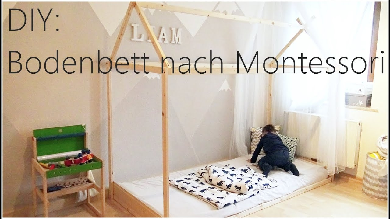 Diy Bodenbett Hausbett Nach Montessori I Tatabeauty Youtube