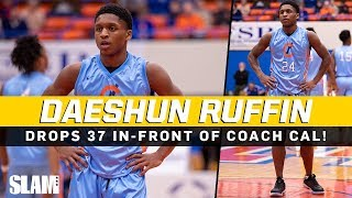 Gambar cover Daeshun Ruffin drops 37 POINTS in-front of Coach Cal!? 5'9 PG goes OFF 🔥