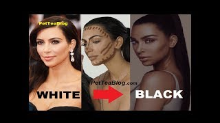 Kim Kardashian Apologizes for Black FACE Transformation causes Controversy 😱😳👀 #BlackFace #kkwbeauty