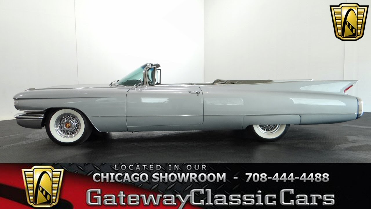 1960 Cadillac Series 62 Convertible Gateway Classic Cars Chicago ...