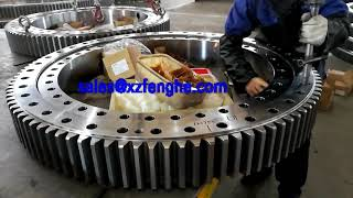 Slewing bearing assembly process|How to install slewing ring