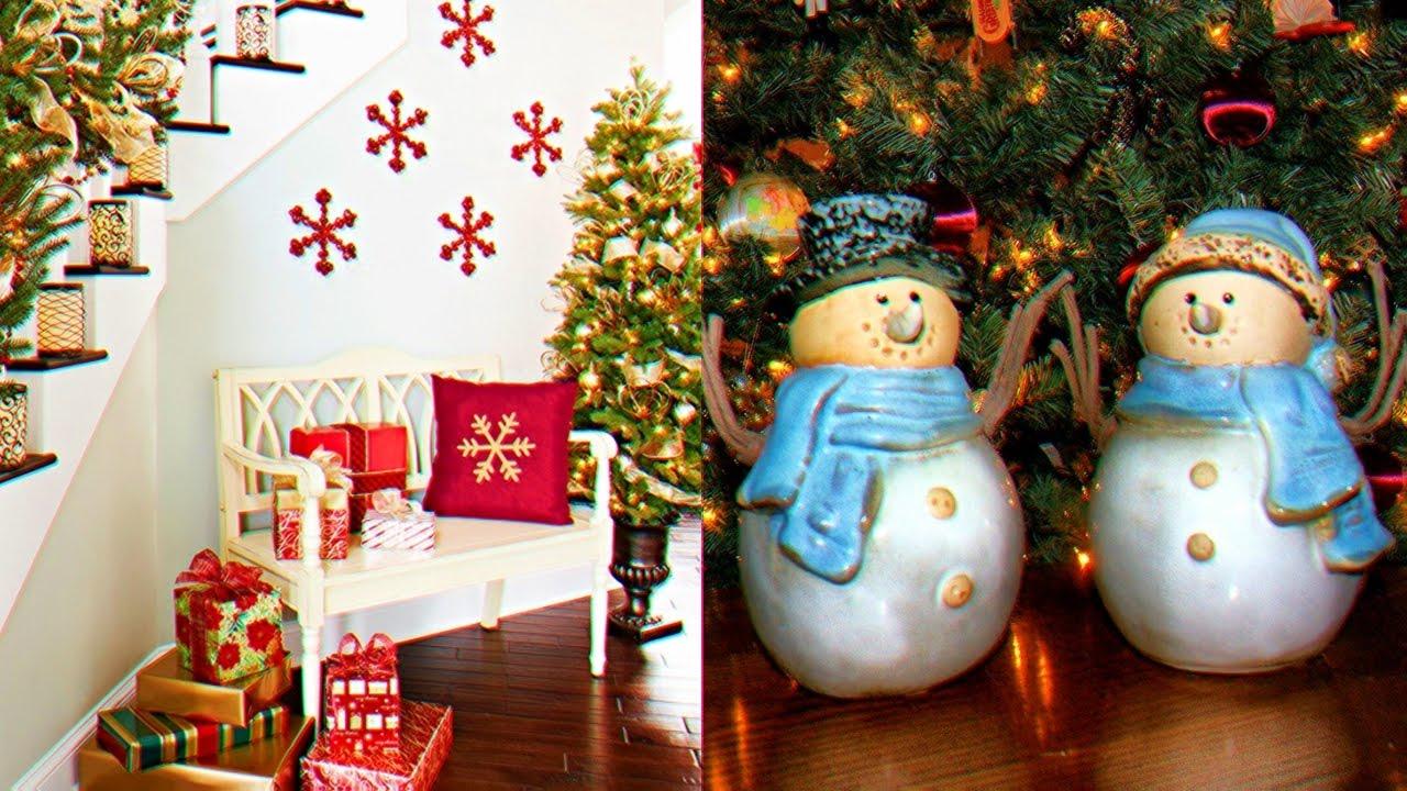 adornos f ciles de hacer para navidad 2016 youtube